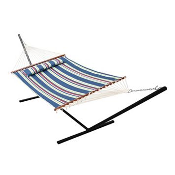 Garden Nantucket Double Wide Quilted Reversible Hammock