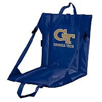 Logo Brand Georgia Tech Yellow Jackets Folding Stadium Seat