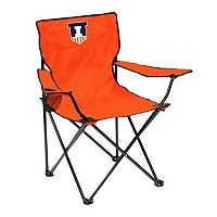 Logo Brand Illinois Fighting Illini Portable Folding Chair
