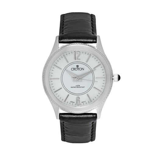 Croton Men's Leather Watch