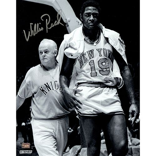 Steiner Sports New York Knicks Willis Reed With Trainer 8