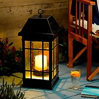 San Rafael 24-in. LED Candle Lantern