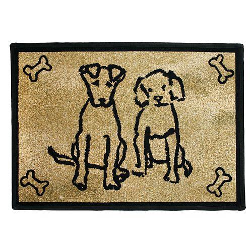 Park B. Smith Dog Friends Pet Rug