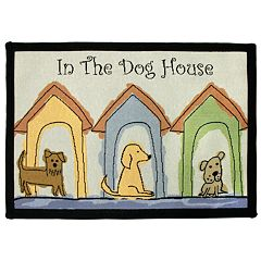 Park B. Smith Dog Houses Pet Rug