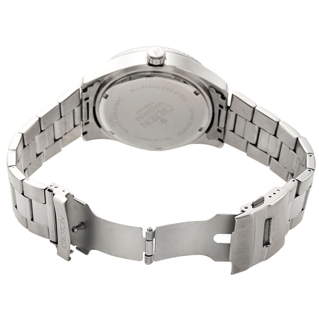 Croton Men's Stainless Steel Sport Watch