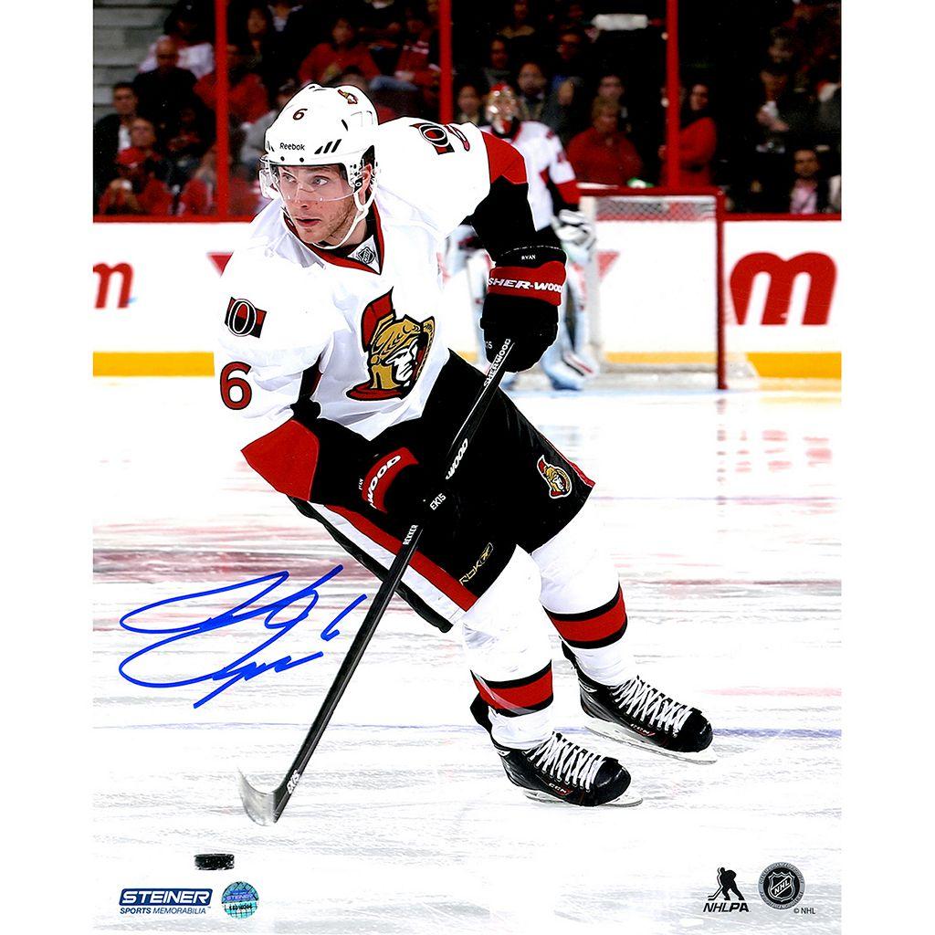 Steiner Sports Ottawa Senators Bobby Ryan Against Anaheim Ducks 8