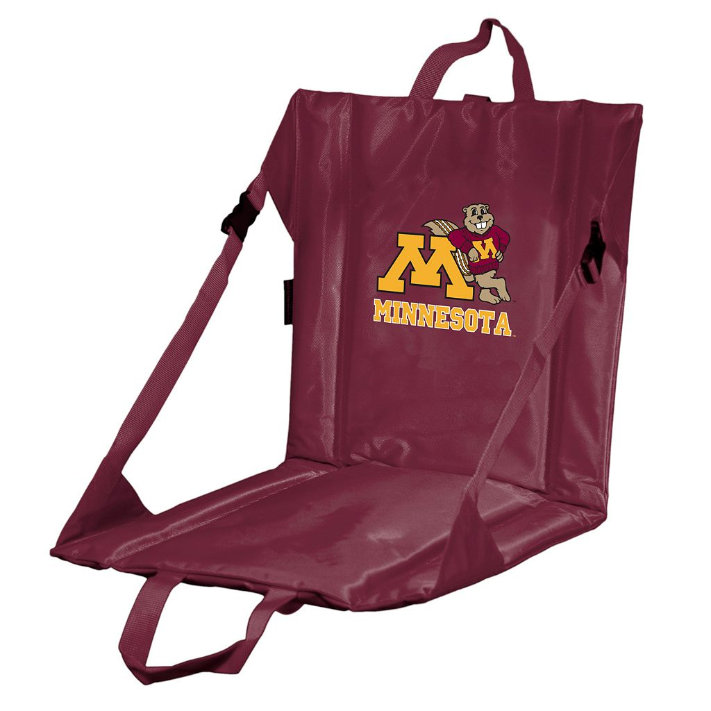 Logo Brand Minnesota Golden Gophers Folding Stadium Seat