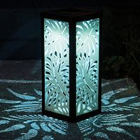 Frosted Palm Lantern LED Light