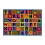 Fun Rugs Fun Time Numbers & Letters Rug