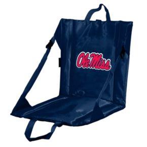 Logo Brand Ole Miss Rebels Folding Stadium Seat