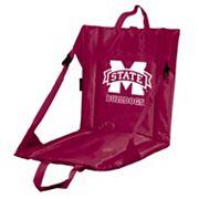 Logo Brand Mississippi State Bulldogs Folding Stadium Seat
