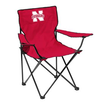 Logo Brand Nebraska Cornhuskers Portable Folding Chair