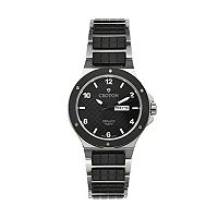 Croton Men's Stainless Steel & Ceramic Watch