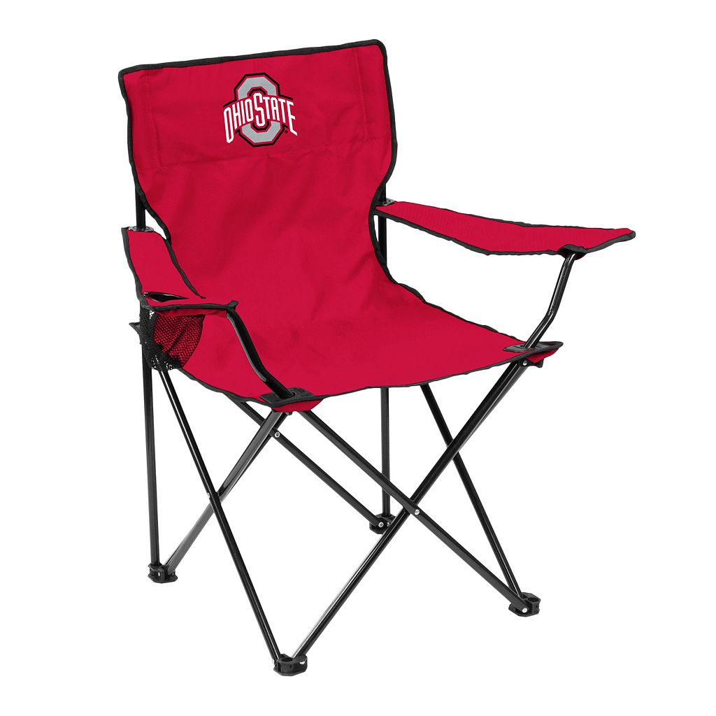 Logo Brand Ohio State Buckeyes Portable Folding Chair