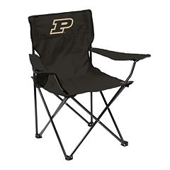 Logo Brand Purdue Boilermakers Portable Folding Chair