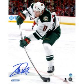 "Steiner Sports Minnesota Wild Zach Parise Wild Stick Flex 8"" x 10"" Signed Photo"