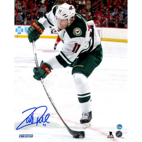 Steiner Sports Minnesota Wild Zach Parise Wild Stick Flex 8