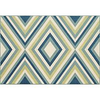 Momeni Baja Zigzag Indoor Outdoor Rug