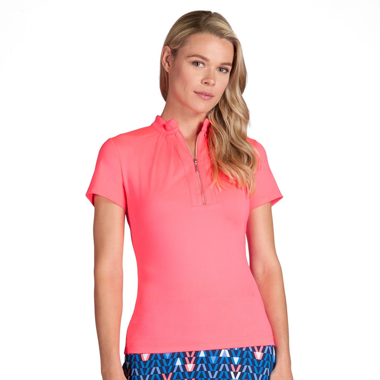Womens Tail Cosmic Allure Agatha Quarter-Zip Golf Polo