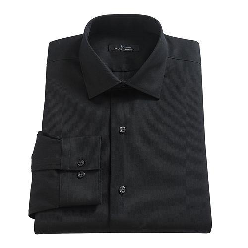 Men's Marc Anthony Textured Slim-Fit No-Iron Dress Shirt