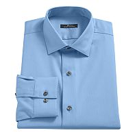 Men's Marc Anthony Textured Slim-Fit No-Iron Dress Shirt