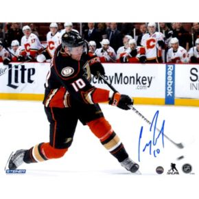 "Steiner Sports Anaheim Ducks Corey Perry Overtime Goal 8"" x 10"" Signed Photo"
