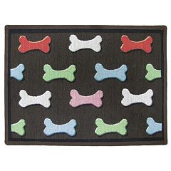 Park B. Smith Dog Bone Pet Rug