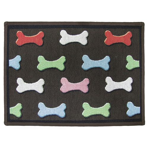 Dog Bone Pet Rug: Park B. Smith Dog Bone Pet Rug