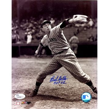 Steiner Sports Cleveland Indians Bob Feller Signed 8