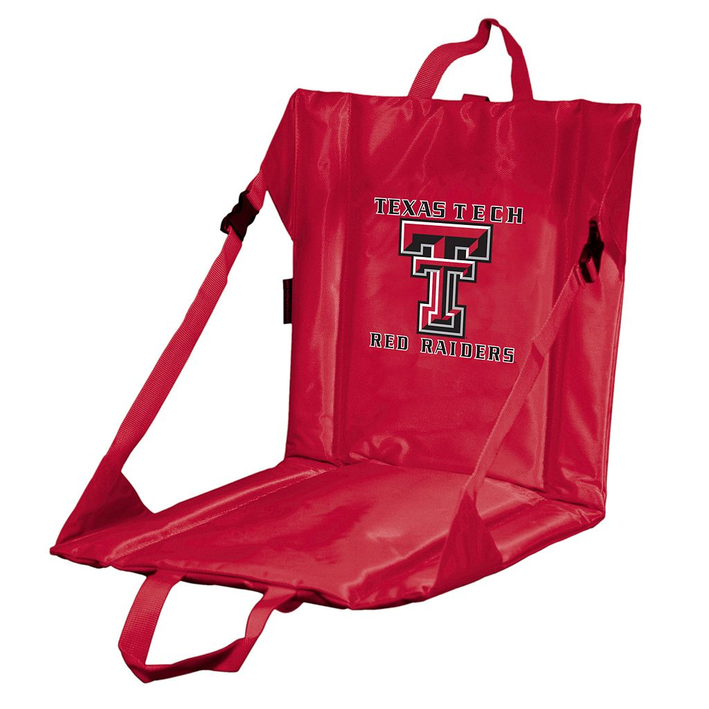 Logo Brand Texas Tech Red Raiders Folding Stadium Seat