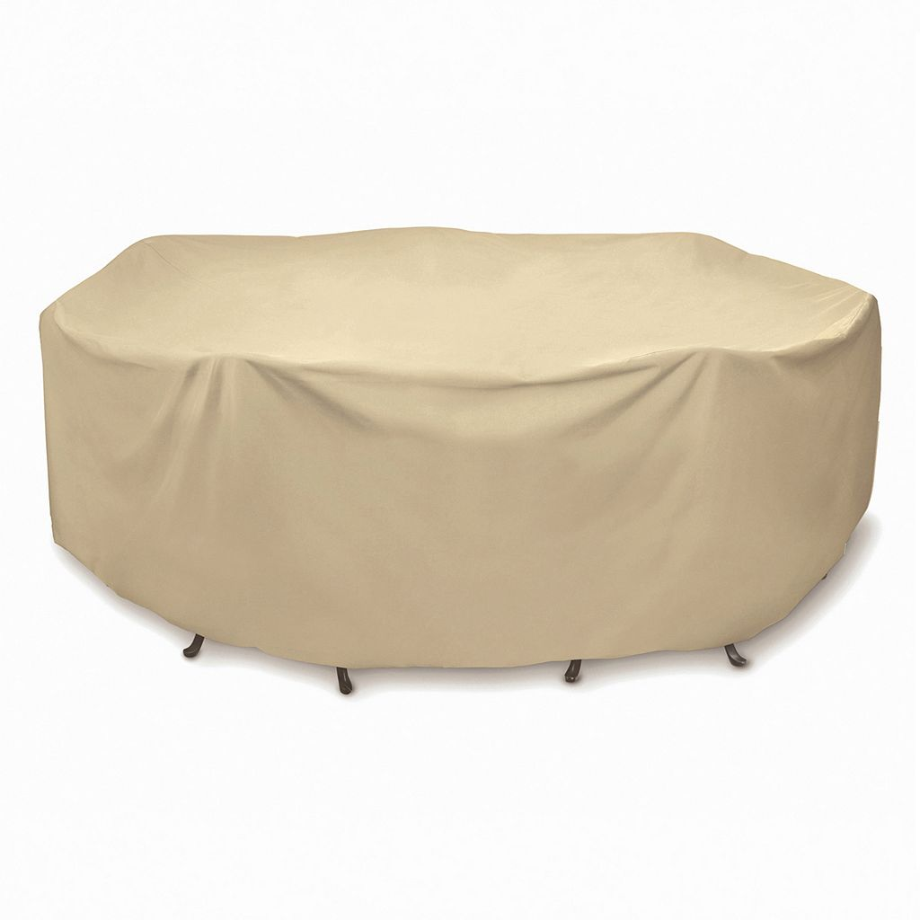 Smart Living 108-in Round Table Set Cover