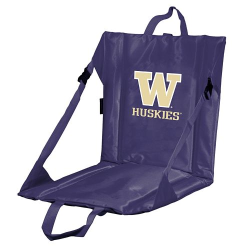 Logo Brand Washington Huskies Folding Stadium Seat