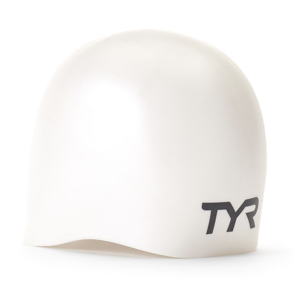 TYR Wall Breaker Silicone Swim Race Cap