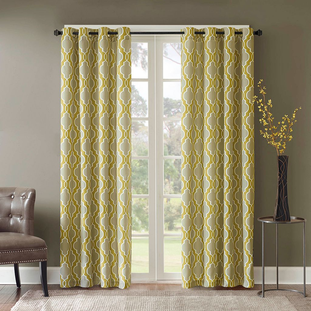 Madison Park Piper Curtain