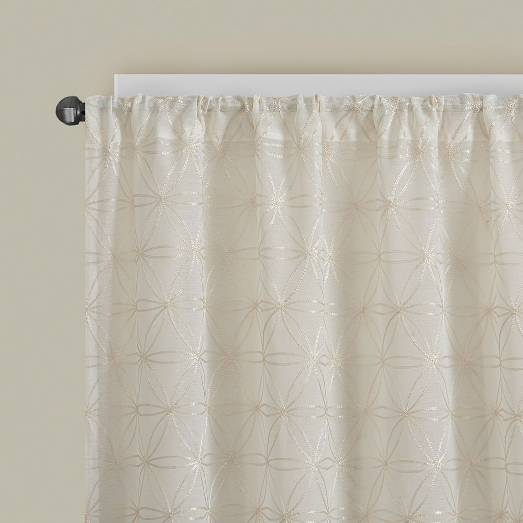 Madison Park Kida Sheer Curtain