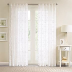 Madison Park 1-Panel Kida Sheer Window Curtain