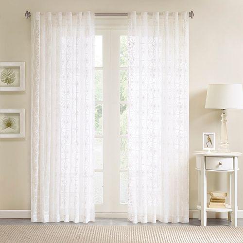 Madison Park 1-Panel Kida Sheer Window Curtain