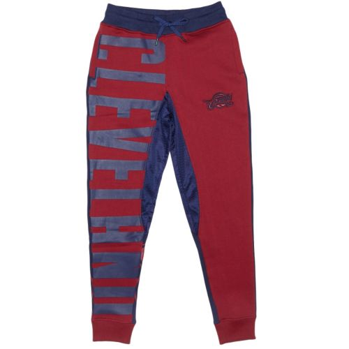 Men's Unk Cleveland Cavaliers Wine Speckled Fleece Jogger Pants