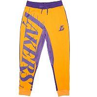 Men's Unk Los Angeles Lakers Speckled Fleece Jogger Pants