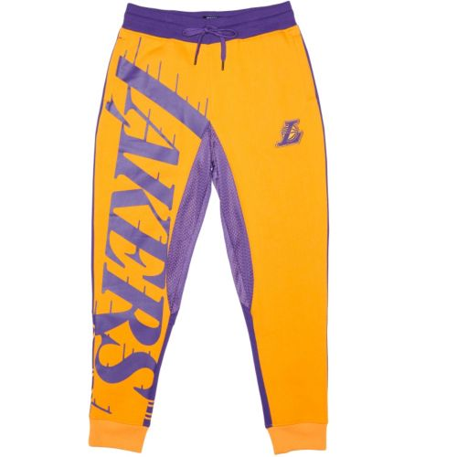 Men's Unk Los Angeles Lakers Speckled Fleece Jogger Pants