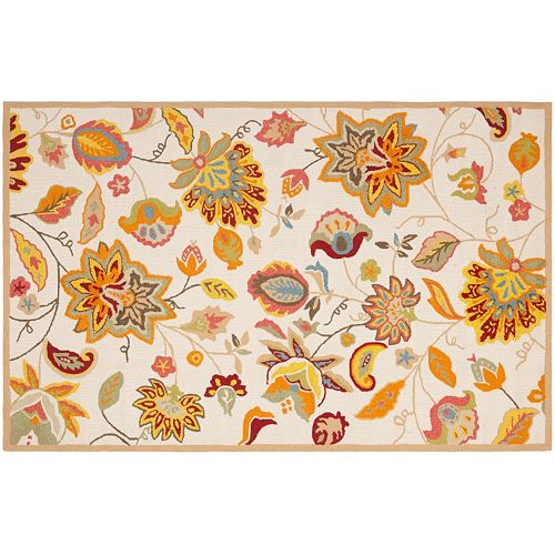 Safavieh Four Seasons Parkland Floral Indoor Outdoor Rug