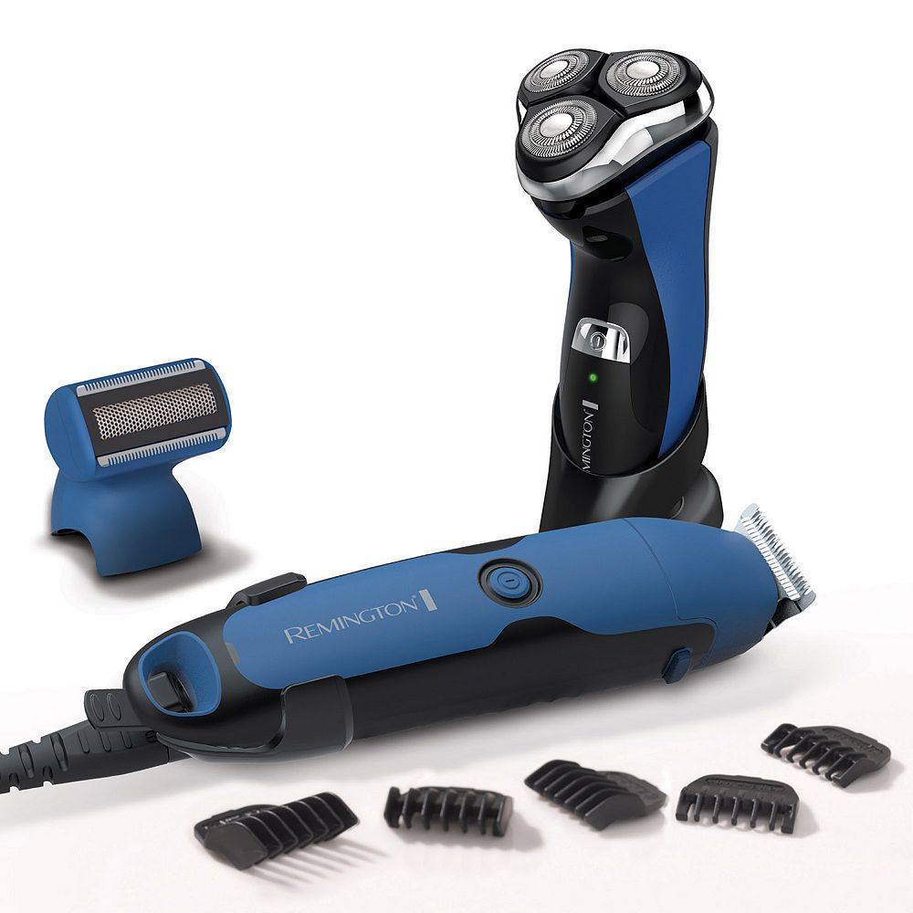Remington WetTech Power Series R8 Rotary Shaver & Personal Groomer Set
