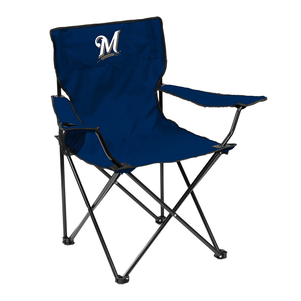 Logo Brand Milwaukee Brewers Portable Folding Chair
