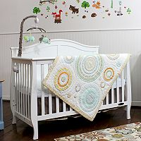 Nurture Heavenly Spheres & Cosmic Dots 3-pc. Crib Bedding Set