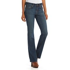 Juniors' SO® Perfectly Soft Embroidered Bootcut Jeans