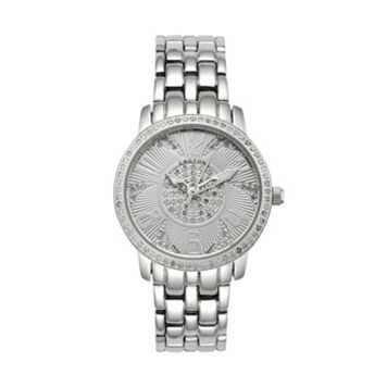 Croton Women's Diamond Stainless Steel Watch - CN207420SSDI
