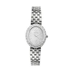 Croton Women's Diamond Stainless Steel Watch - CN207507SSMP