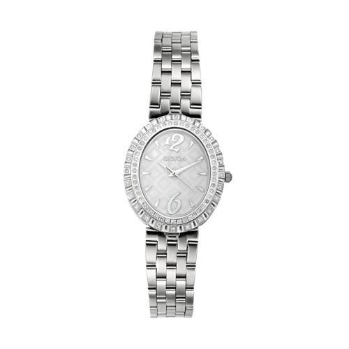 Croton Women's Diamond Stainless Steel Watch - CN207507SSMP