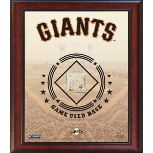 Steiner Sports San Francisco Giants Game Used Base Stadium Collage