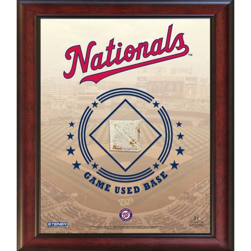 Steiner Sports Washington Nationals Game Used Base Stadium Collage